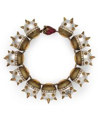 Gucci - Pearl Necklace With Strawberry Closure - Lyst