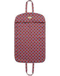 Gucci Kleidersack mit geometrischem g print - Rot