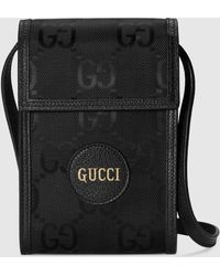 Gucci 【公式】 (グッチ) Off The Grid ミニバッグブラック GG Econyl®ブラック