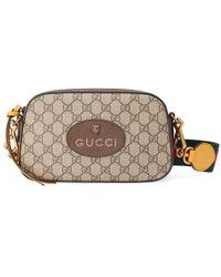 Gucci - GG Supreme Messenger Bag - Lyst