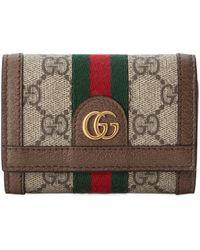 Gucci - Portefeuille à rabat Ophidia - Lyst
