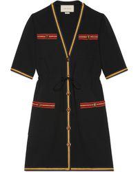 Gucci - Viscose Jersey Dress - Lyst