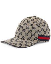 Gucci - Gg Canvas Baseball Hat - Lyst