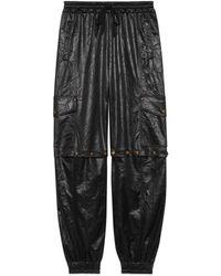 Gucci - Pantalon de jogging en tissu technique pour femme - Lyst