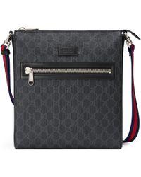 14929bf0043a Gucci - GG Supreme Messenger Bag - Lyst