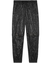 Gucci - Pantalon de jogging en tissu technique pour homme - Lyst
