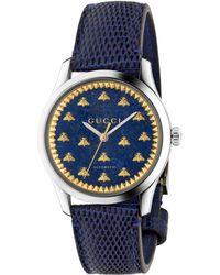 Gucci Orologio G-Timeless, 38 mm - Blu