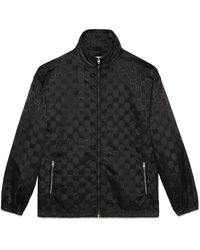 Gucci Off The Grid Zip-up Jacket - Black