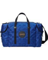 Gucci Borsa da viaggio Off The Grid - Blu