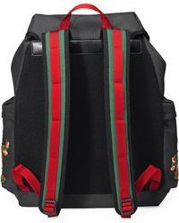 Gucci Zaino in tessuto tecnico - Nero