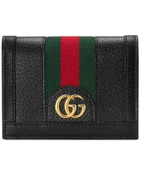 Gucci Ophidia GG Card Case - Black