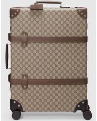 Gucci - グッチグローブ・トロッター GG ミディアム スーツケース - Lyst