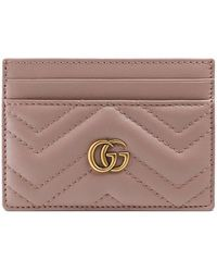 Gucci - Porte-cartes GG Marmont - Lyst