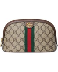 Gucci Ophidia Large Cosmetic Case - Natural