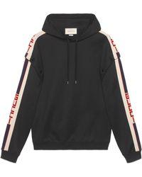 Gucci Technical Jersey Sweatshirt - Black