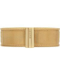 216dbf178945a Gucci - Blind For Love Bracelet In Gold - Lyst