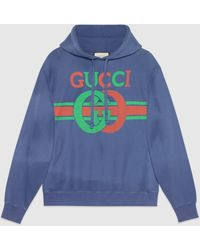 Gucci - グッチインターロッキングg プリント スウェットシャツ - Lyst