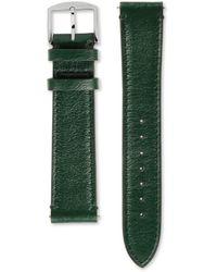 Gucci Correa de piel para el reloj Grip, 38 mm - Verde
