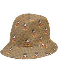Gucci Disney X Bucket Hat - Natural