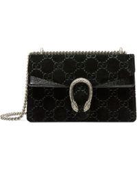 Gucci - Dionysus Gg Velvet Small Shoulder Bag - Lyst