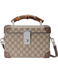 Gucci Beauty case Globe-Trotter - Neutro