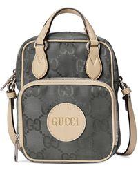 Gucci Off The Grid Schultertasche - Grau
