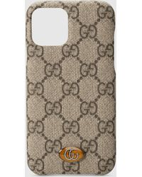 Gucci Ophidia GG iPhone 11 Pro-Hülle - Natur