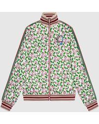 Gucci グッチドラえもん X テクニカルジャージー ジャケット Detail 2 - マルチカラー