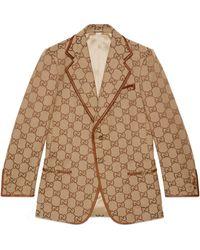 Gucci Veste 100 en toile gg maxi - Neutre