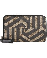 Gucci - Gg Caleido Zip Around Card Case - Lyst