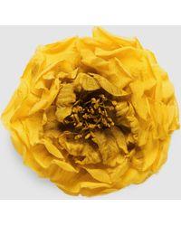 Gucci | Flower Pin In Silk | Lyst