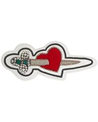 Gucci - Ace Pierced Heart Patch - Lyst
