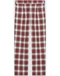 Gucci - Soft Tartan Pyjama Pant - Lyst