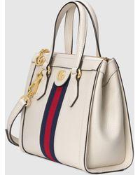 Gucci Kleiner Ophidia Shopper - Weiß