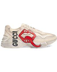 e4c604bb3 Men's Gucci Trainers Online Sale - Lyst