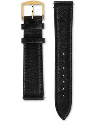 Gucci Bracelet de montre Grip en cuir, 38 mm - Noir
