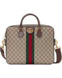 Gucci - Portadocumenti Ophidia in GG Supreme - Lyst