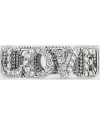 """Gucci """"Blind for Love""""-Ring - Weiß"""
