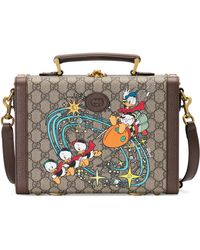 Gucci Disney x Donald Duck Kosmetikkoffer - Natur