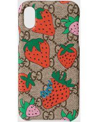 Gucci - ストロベリー(いちご) Iphone X/xs ケース - Lyst