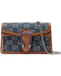 Gucci Mini borsa Dionysus - Blu