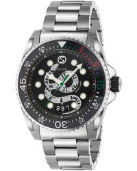 Gucci Dive-Uhr, 45 mm - Mettallic