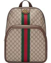 Gucci Ophidia GG Medium Backpack - Natural