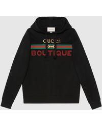 Gucci - グッチ Boutique プリント スウェットシャツ - Lyst