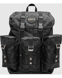 Gucci 【公式】 (グッチ) Off The Grid バックパックブラック GG Econyl®ブラック
