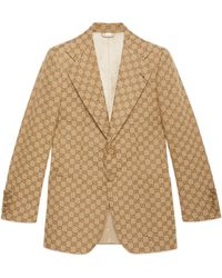 Gucci GG Canvas Jacket - Natural