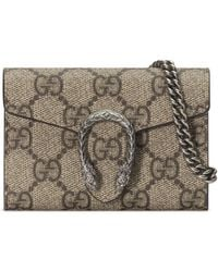 Gucci Dionysus GG Coin Purse - Natural