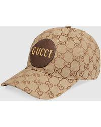 Gucci Baseballkappe aus GG Canvas - Natur