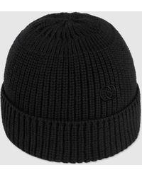 Gucci Mütze aus Baumwolle mit GG - Schwarz