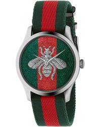 Gucci G-Timeless Uhr, 38 mm - Grün